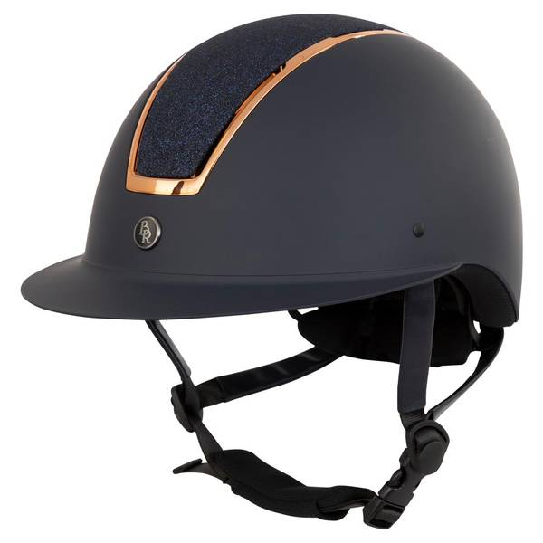 Bilde av BR ridehjem Helmet Omega Painted Navy/rose